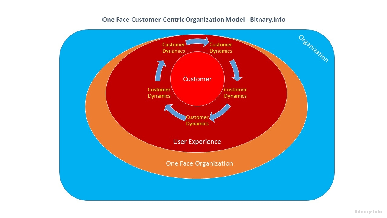 One Face Customer-Centric Digital Organization Model - Bitnary.info