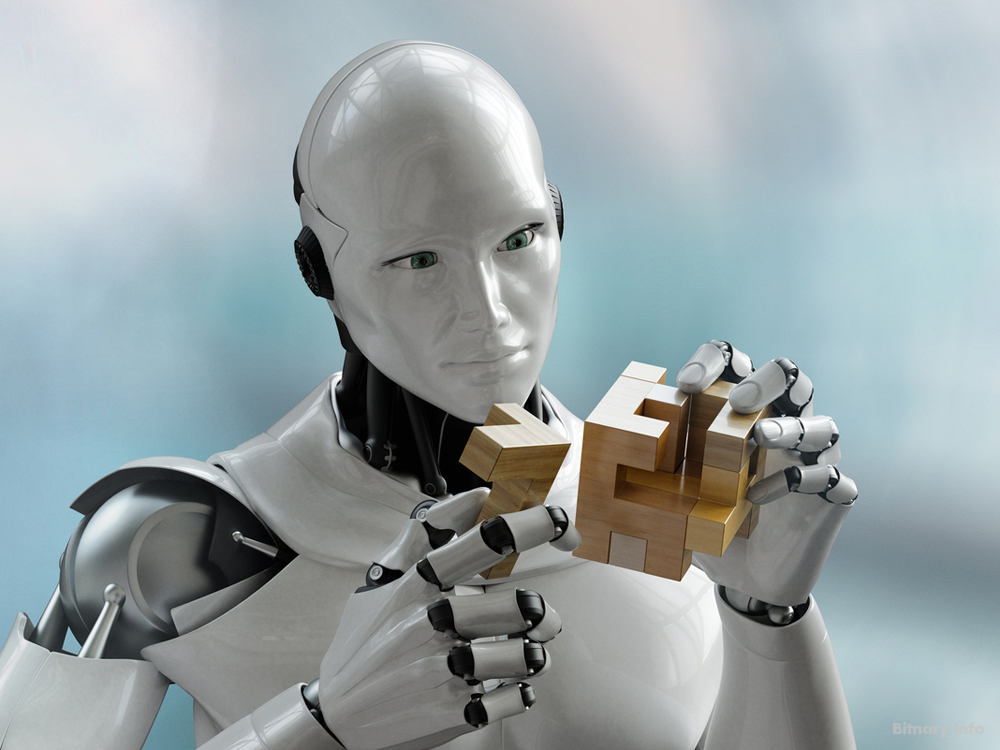 Artificial Intelligence- Cognitive RPA - robot doing human task