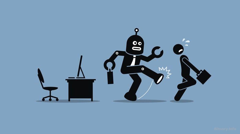 AI Robots doing your job-bitnary.info